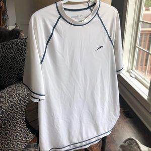 White speedo t shirt